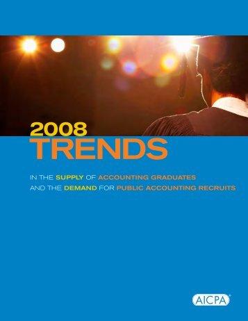 Trends in Accounting Majors - Krannert School of Management