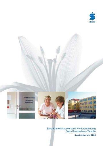 Download (PDF, 1163 KB) - Sana Krankenhaus Templin
