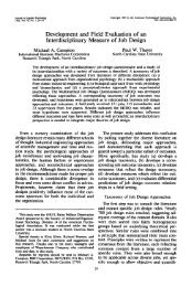 Development and Field Evaluation of an Interdisciplinary Measure of ...