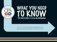 to become a cpa in indiana - Krannert School of Management