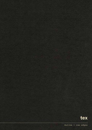 mutina + raw edges - Krassky