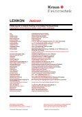 Katalog für Spannungs-wandler - kraus.at - Page 2