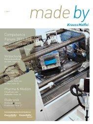 Competence Forum 2011: Top- Maschinen und ... - Krauss Maffei