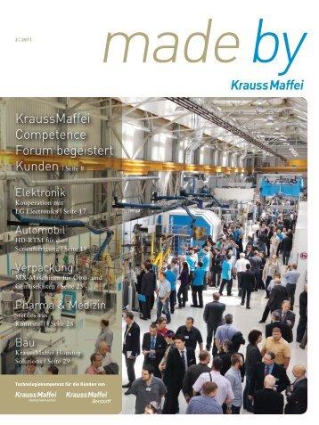 KraussMaffei Competence Forum begeistert