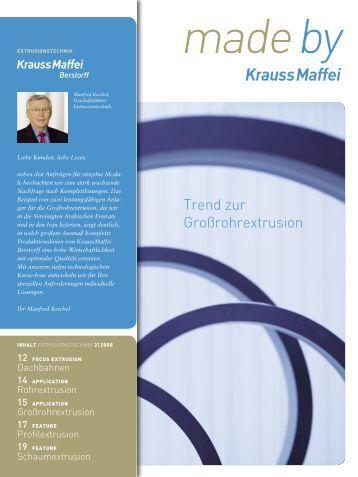 KraussMaffei