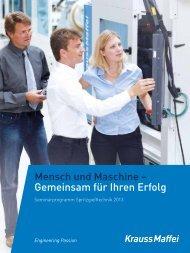 Gemeinsam für Ihren Erfolg 2013 - Krauss Maffei