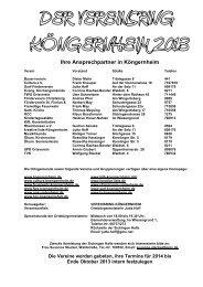 Vereinsring 2003 - Kreative Liste Köngernheim eV