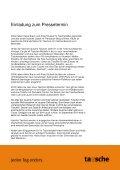 und Presse-Termin bei tausche am 14. August 2010 - Agentur für ... - Page 2