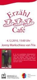 Jonny Markschiess van Trix - KREATIVHAUS Berlin