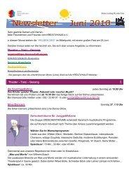 Theater – Tanz – Gesang die SonntagsBühne SilverDancers ...
