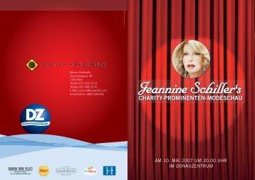 Charity 2007 im DZ.pdf - Wiener Krebshilfe