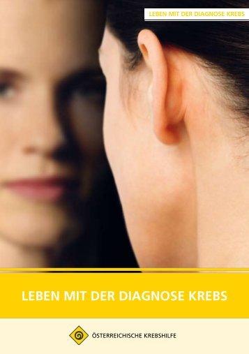 Leben mit der Diagnose Krebs.pdf - Wiener Krebshilfe