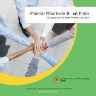 Mein(e) MitarbeiterIn hat Krebs.pdf - Wiener Krebshilfe