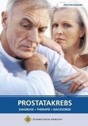 Prostatakrebs _ go.indd - Österreichische Krebshilfe