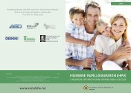 HUMANE PAPILLOMAVIREN (HPV)