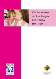 100 Antworten zu Brustkrebs.pdf - Wiener Krebshilfe