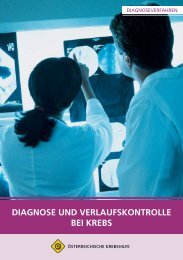 Diagnose und Verlauf.pdf - Wiener Krebshilfe