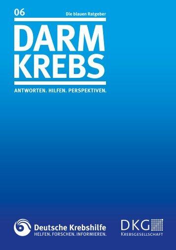 Darmkrebs - Deutsche Krebshilfe eV