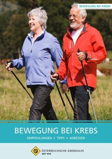 Bewegung bei Krebs.pdf - Wiener Krebshilfe