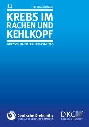 011 Rachen - Deutsche Krebshilfe eV