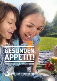 402 Gesunden Appetit - Deutsche Krebshilfe eV