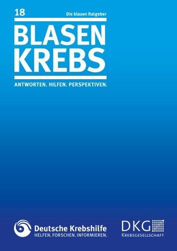 BlasenkreBs - Deutsche Krebshilfe eV