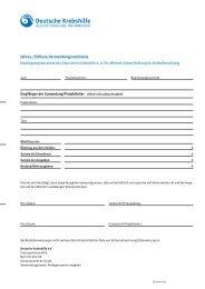 PDF-Datei am PC ausfüllbar - Deutsche Krebshilfe eV