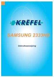SAMSUNG 2333HD