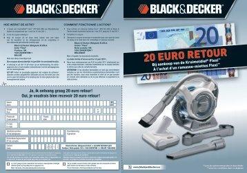 20 EURO RETOUR