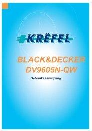 BLACK&DECKER DV9605N-QW