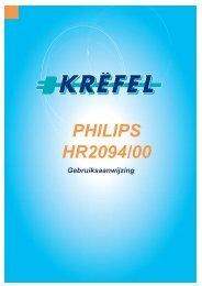 PHILIPS HR2094/00