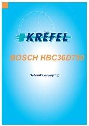 BOSCH HBC36D750