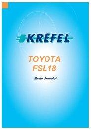 TOYOTA FSL18