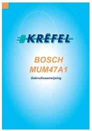 BOSCH MUM47A1