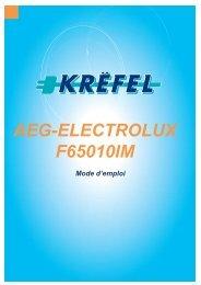 AEG-ELECTROLUX F65010IM