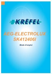 AEG-ELECTROLUX SK412406I