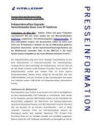 IndependenceKey-Upgrade: Verschlüsselte Voice over IP-Telefonie
