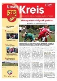 Bildungspaket erfolgreich gestartet 3 2011 - Landkreis Alzey-Worms