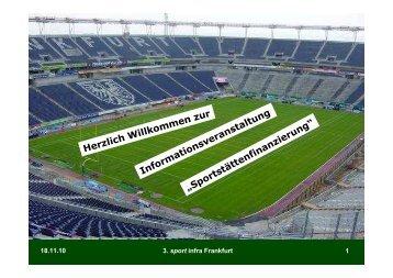 3. sport infra Frankfurt - Kreis Bochum