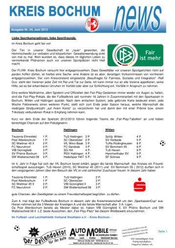 Newsletter Kreis Bochum