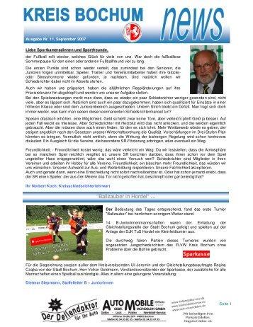 """Ballzauber in Hordel"" … - Kreis Bochum"