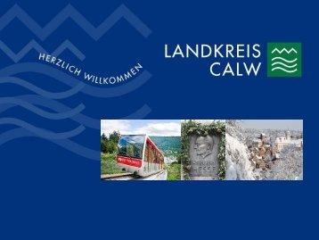 2012-12-10 Vortrag im LRA Calw über die Zukunft ... - Landkreis Calw