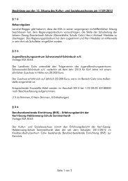 Beschlüsse aus der 13. Sitzung des Kultur- und ... - Landkreis Calw