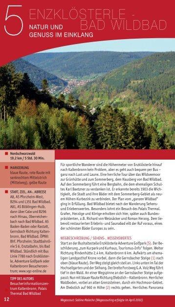 Enzklösterle - Bad Wildbad: Natur und Genuss im Einklang