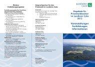 Angebote für Privatwaldbesitzer im Landkreis Calw 2013