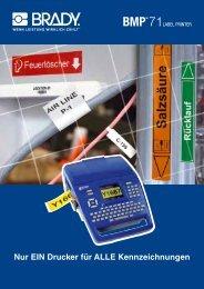 Leitungs- und Kabelmarkierung - Dynamic Systems GmbH