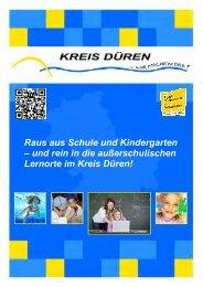 Raus aus Schule und Kindergarten – und rein in die ... - Kreis Düren