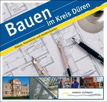 """Broschüre """"Bauen im Kreis Düren"""""""