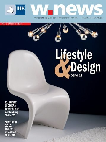 Lifestyle & Design | w.news 01.2013