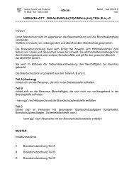 merkblatt brandschutzordnung teil b u. c - Landkreis Eichsfeld